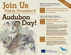 Audubon Day, Dec 6 | Outside My Window