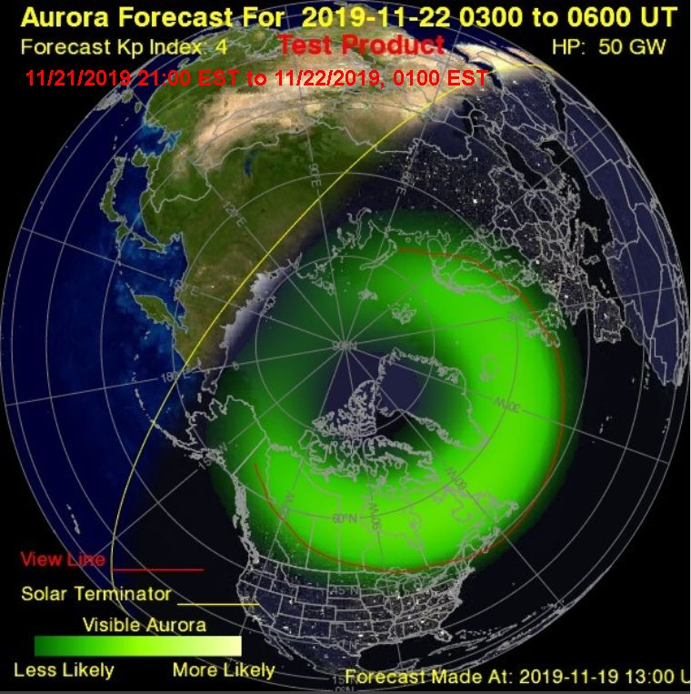 Space Weather Coming Up | Outside My Window