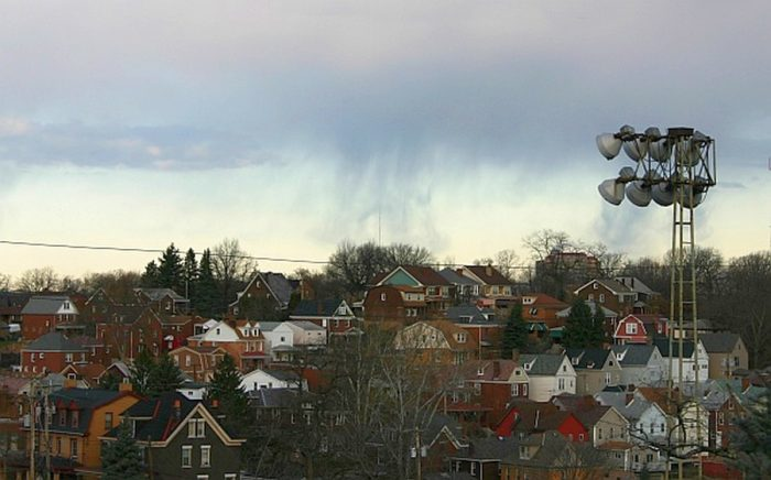 Virga and Other Atmospheric Effects